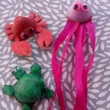 Čary čmáry s deťmi ♥ Morské potvorky