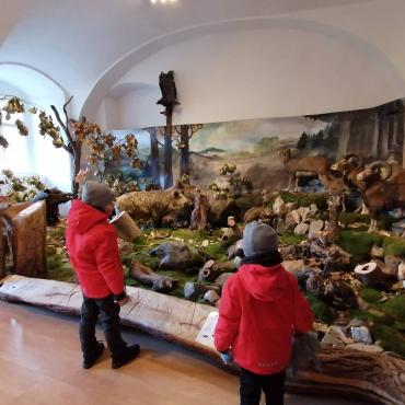 Vandrovka s deťmi: Poľovnícke múzeum v kaštieli vo Svätom Antone