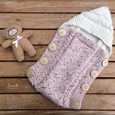 Pletený fusak pre bábiku