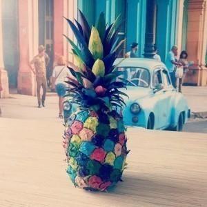 Čary čmáry s deťmi ♥ Pestrofarebný ananás