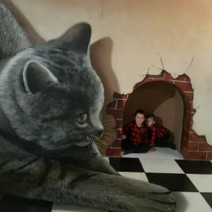 Vandrovka s deťmi: Galéria Ilusia v Liptovskom Mikuláši