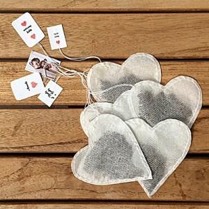 Srdiečkové čajové vrecúška