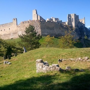 Jesenná vandrovka s deťmi: hrad Beckov