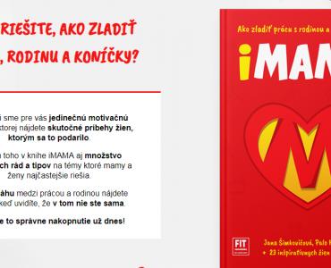 Súťažíme o knihu iMAMA