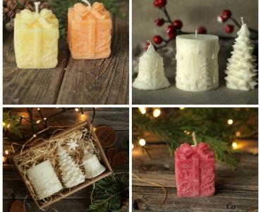 Pre rodinu, ktorá miluje vianočnú pohodu domova. Voňavé dekoratívne sviečky na prevoňanie domova vianočnou vôňou