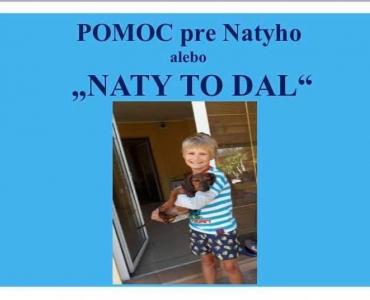 Pomoc pre malého Natyho!