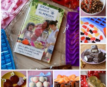 Kniha Zdravé domáce sladkosti aj s formičkami!