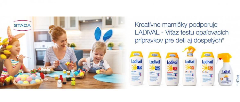 Súťaž o 5 balíčkov opaľovacích krémov LADIVAL