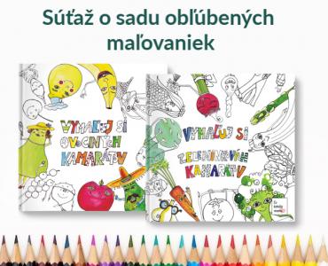 Umenie našich detí - Súťaž o sadu obľúbených maľovániek