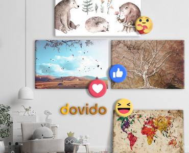 💥🖼 SÚŤAŽ: Vyšperkujte 🤩 si váš interiér s obrazmi od Dovido.sk 🖼💥