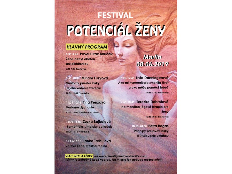 Galéria - Zaujalo nás: Festival Potenciál ženy - 1