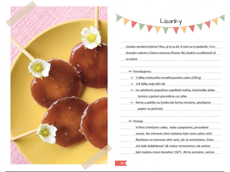 Zdravé domáce sladkosti