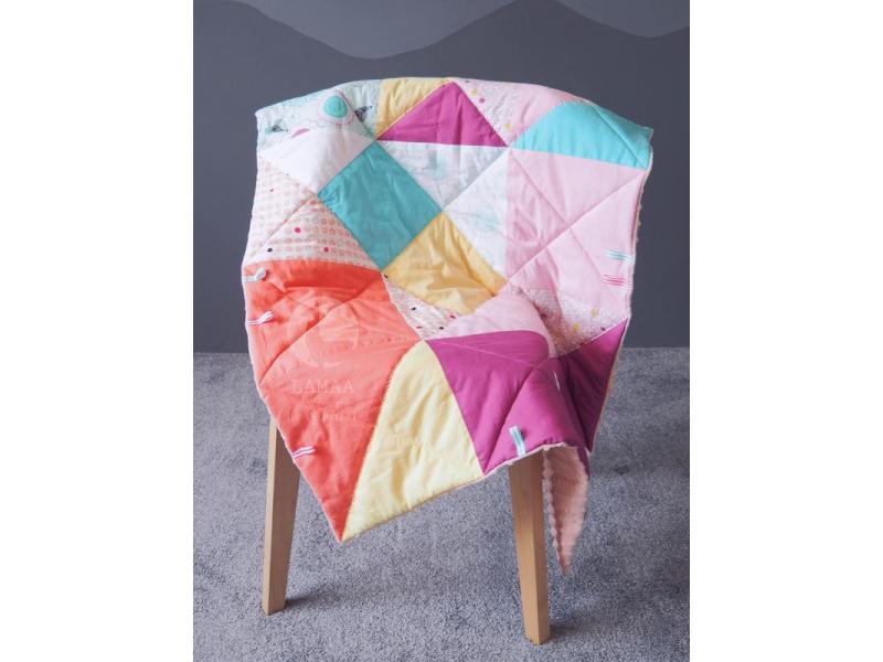 Prešívaná zateplená deka