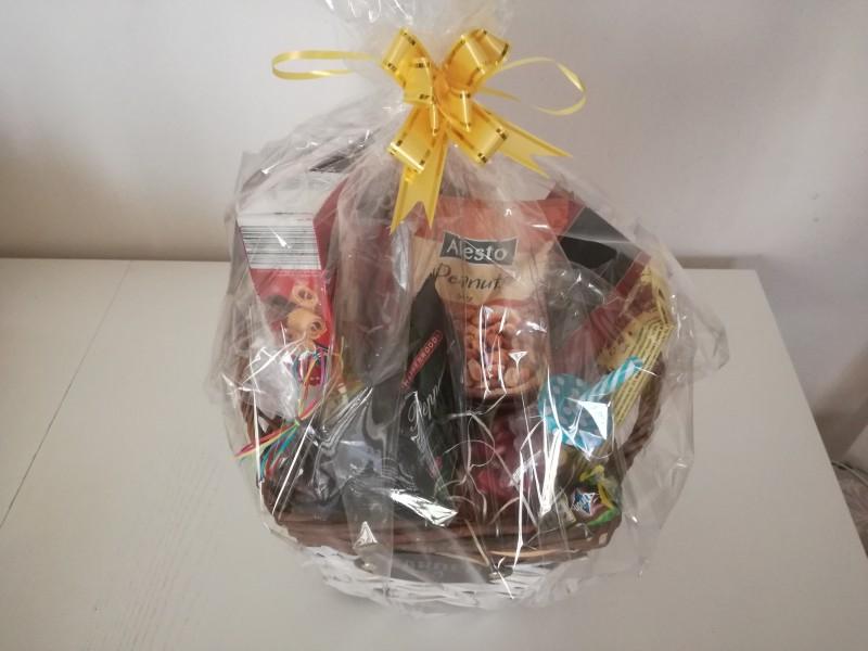 darčekový kôš - bednička