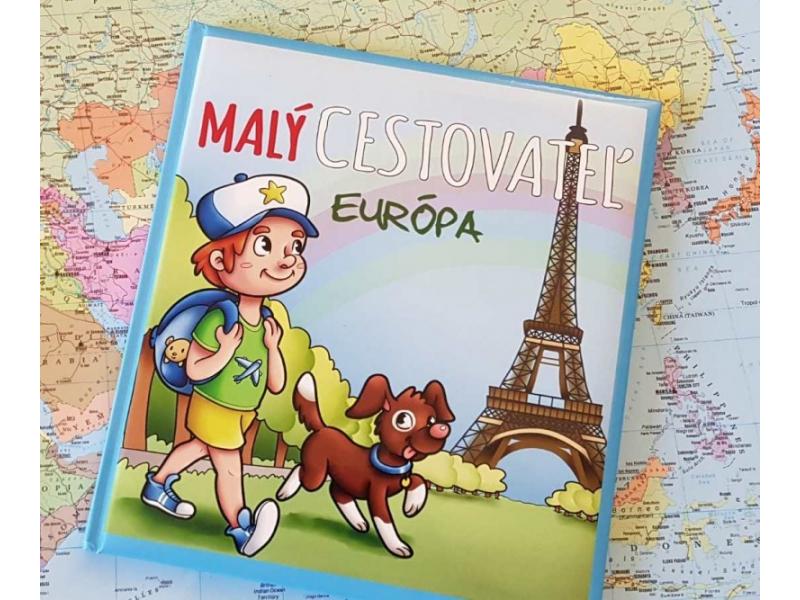 Kniha pre deti MALÝ CESTOVATEĽ - Európa