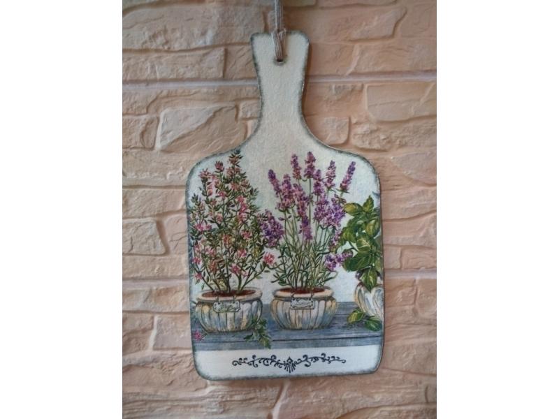 Dekoračný lopárik - Vôňa byliniek