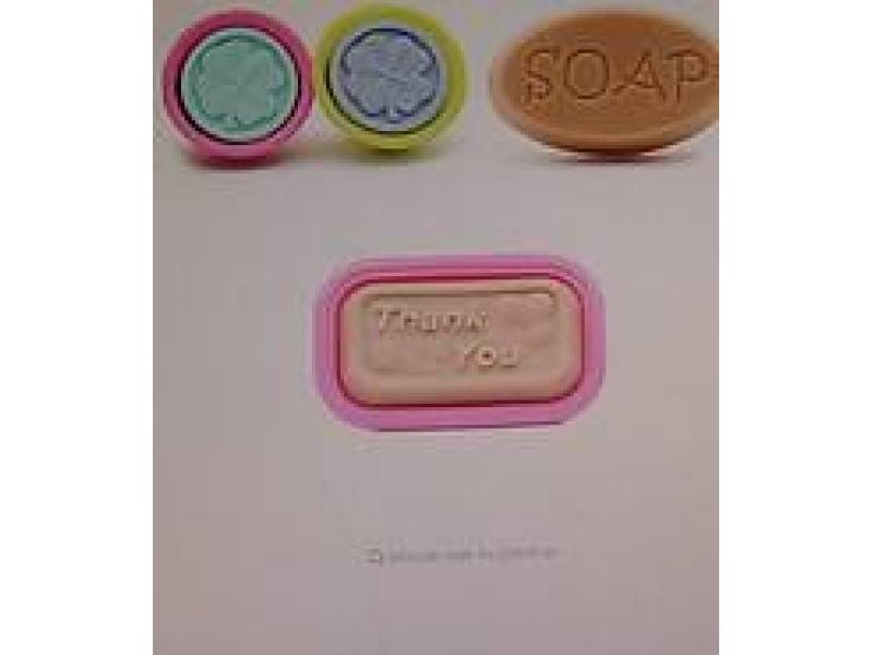 Silikónová forma na mydlo Thank you, 1 ks