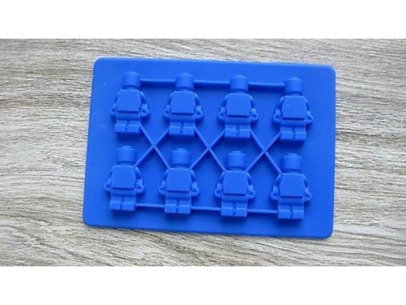 Silikónová forma LEGO panáčikovia, 1 ks