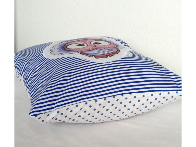 Bavlnený vankúšik - OčiPuči Švihák Wincko