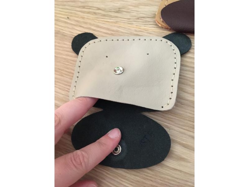 Kozena peňaženka Macko