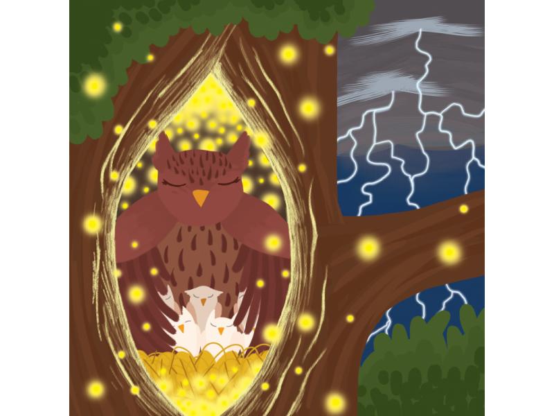 Na chalúpke pod lesom - knižka básní s pexesom