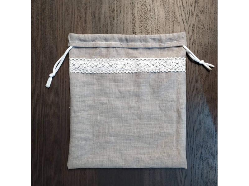 Ľanové vrecka na pečivo