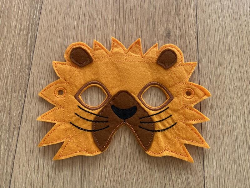 Levík detská karnevalová maska