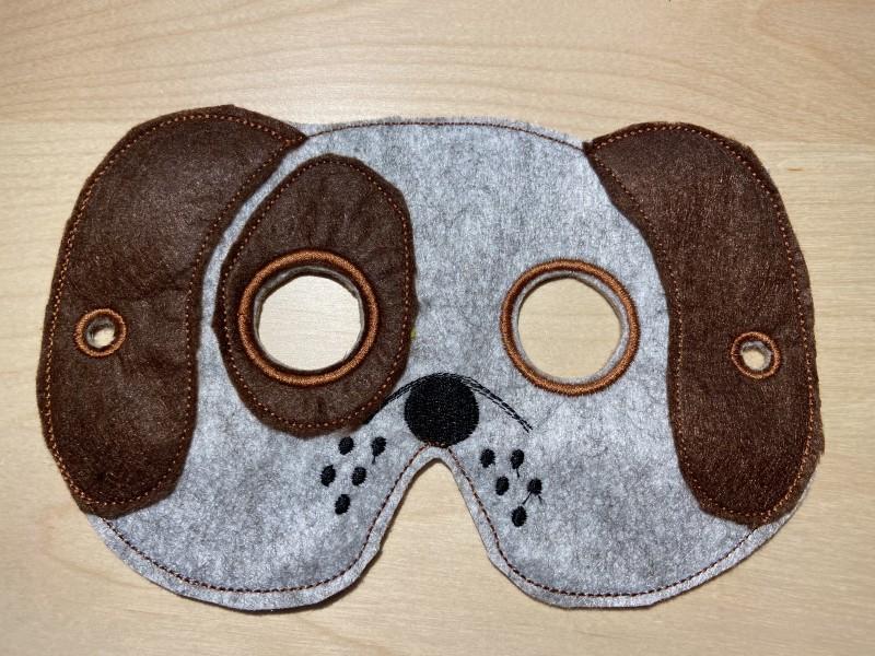 Psik Rexík detská karnevalová maska