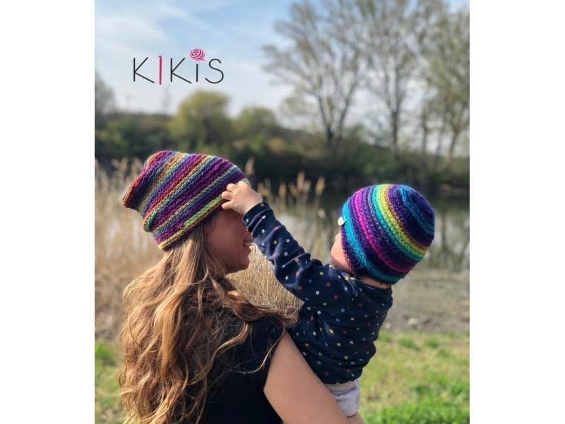Set prechodná čiapočka Vtáčatká - Mama a jej Dieťatko