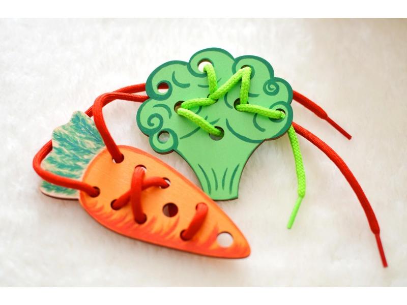 Prevliekačky mrkva, brokolica