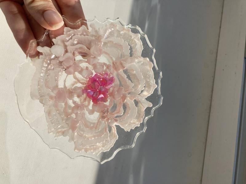 Kvetinový 3D efekt