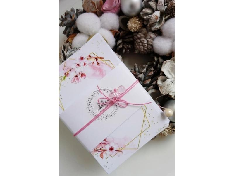 Míľnikové kartičky na želanie 36 kusov Melinka