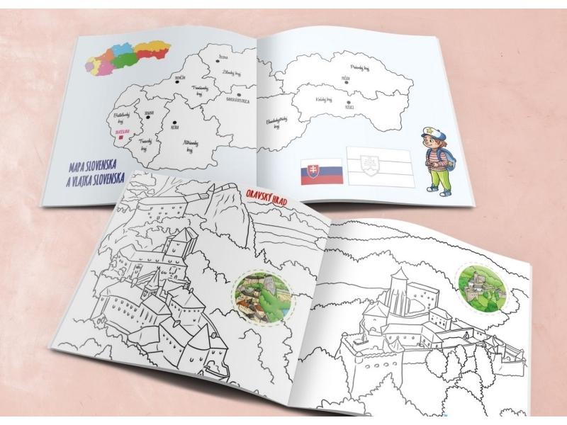 Maľovanka - Slovensko