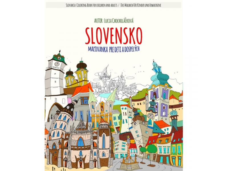 SLOVENSKO Maľovanka