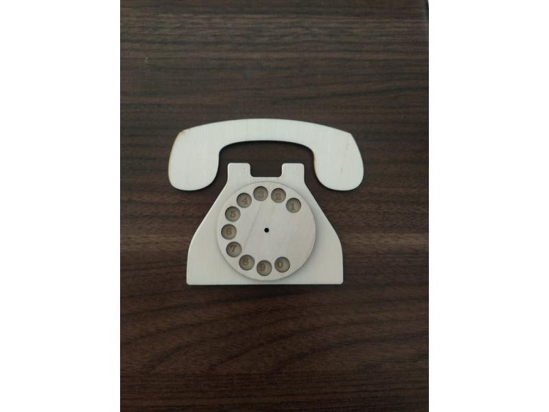 (AB003) Súprava na výrobu telefón