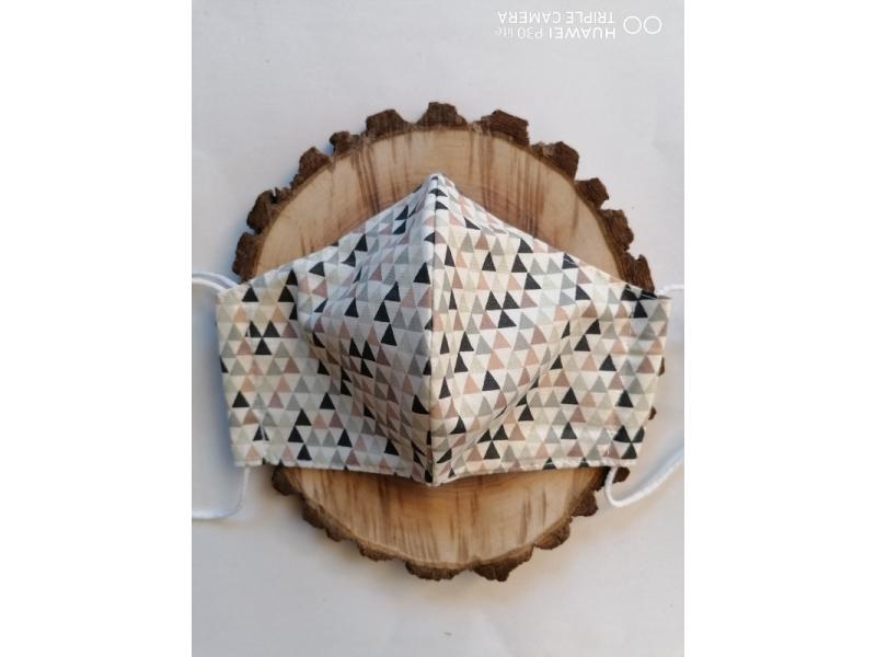 Anatomické rúška na tvár _trojuholníky