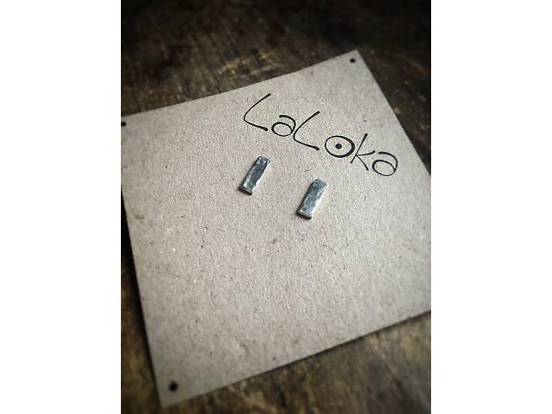 Minimalistické napichovačky tepané Obdĺžniky