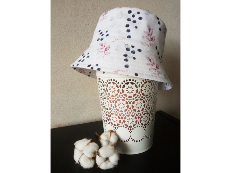 Letný klobúčik- obvod hlavy 46