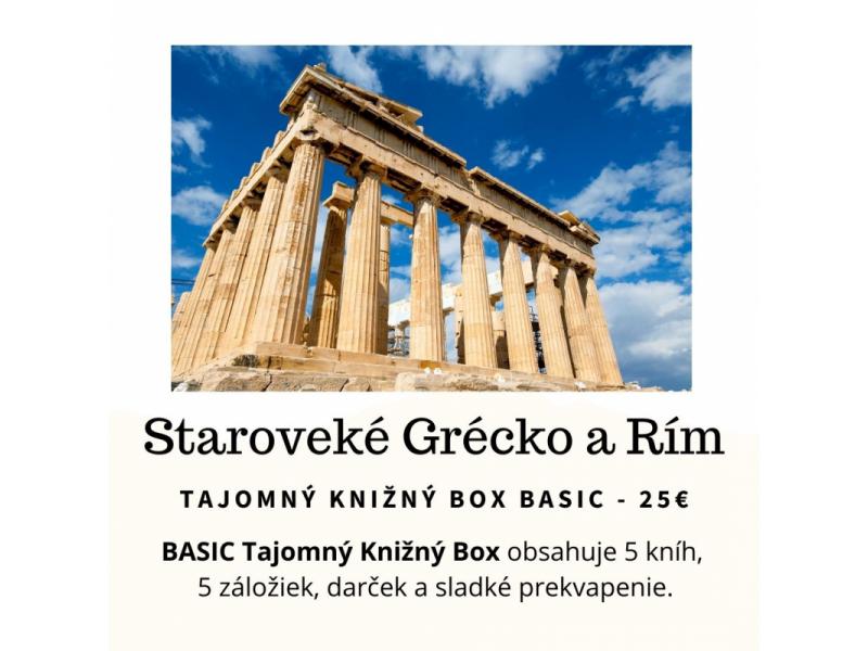 Tajomný knižný Box - Staroveké Grécko a Rím