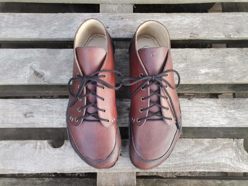 Klau Color - Barefoot členková topánka na mieru - dospelácke