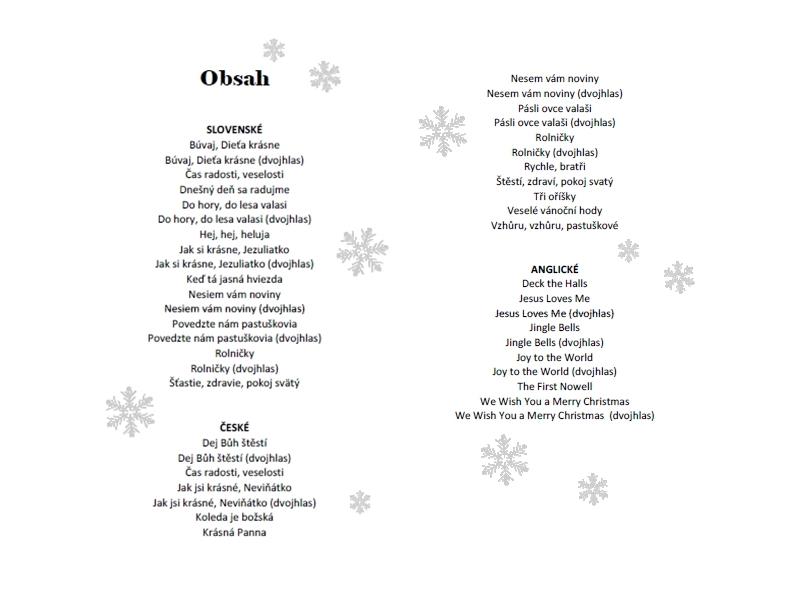Koledy a vianočné piesne pre BOOMWHACKERS