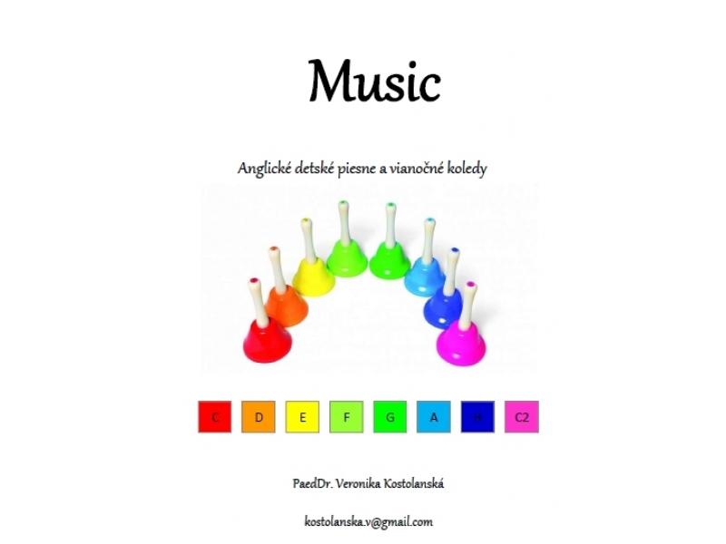 Music- predloha na hru na ZVONČEKOCH- Anglické detské piesne a koledy
