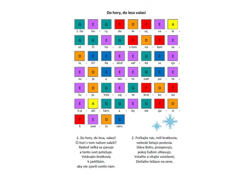 Koledy a vianočné piesne pre BOBOTUBES