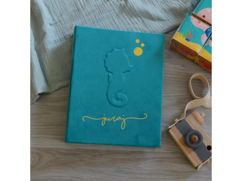 Personalizovaný fotoalbum Morský koník