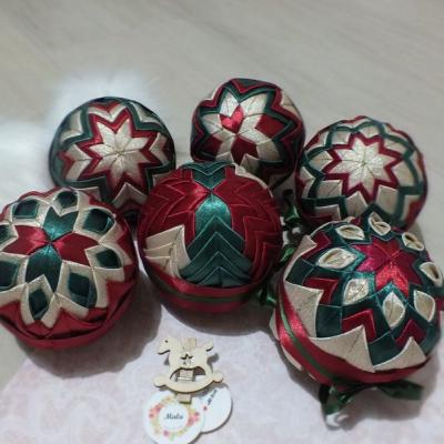 Set vianočných gúľ