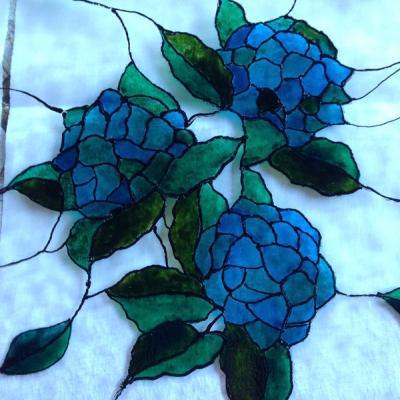 Maľovaná vitráž