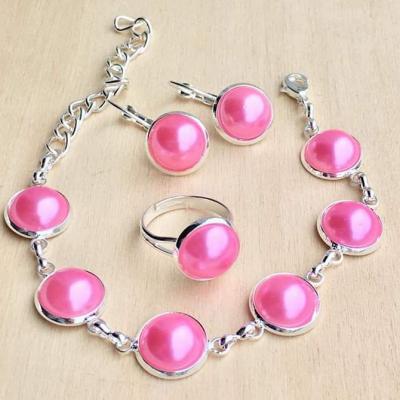 Ružový set