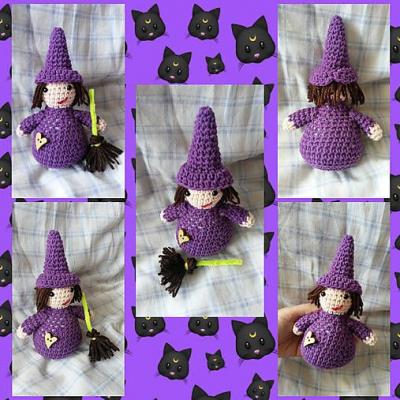 Fialová čarodejka