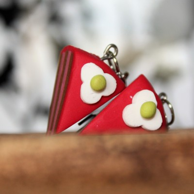 Tortičky - červené (s ozdobou)