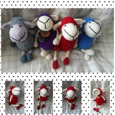 Červená ovečka